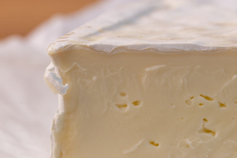 Brie closeup