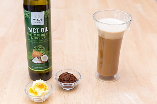 Bulletproof coffee with MCT oil
