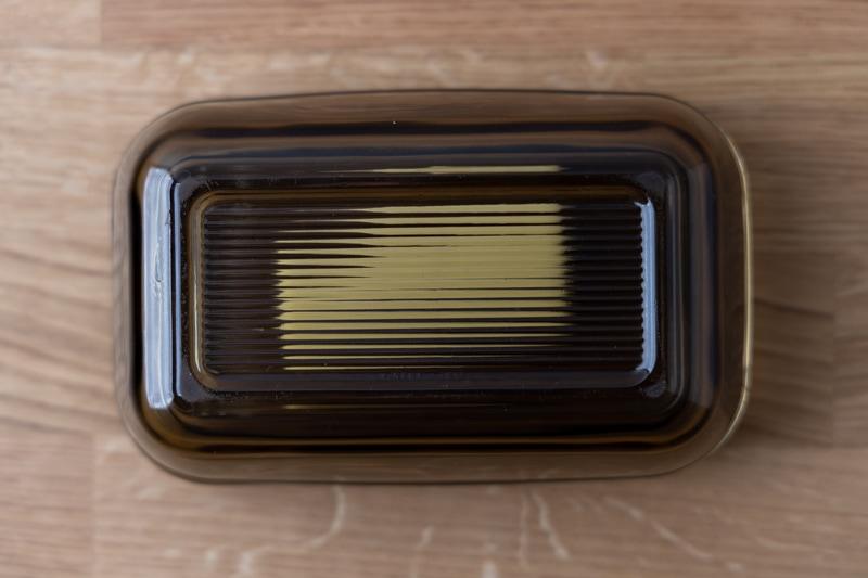 Butter in a butter dish