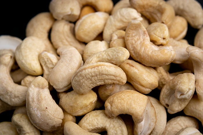 Pile of cashews