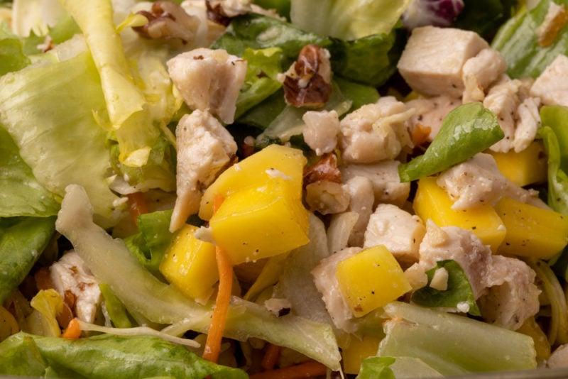 Chicken salad closeup