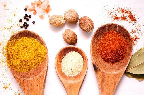 Colorfull spices