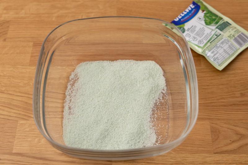 Dry jello
