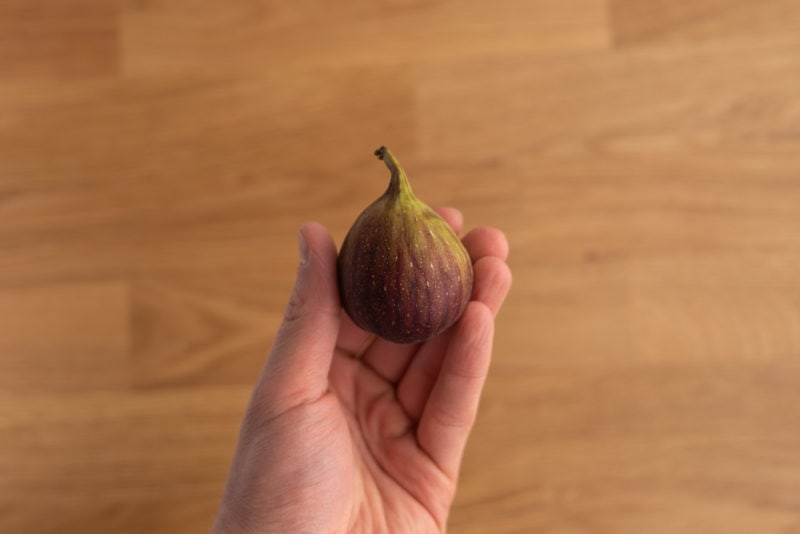 Fig in hand