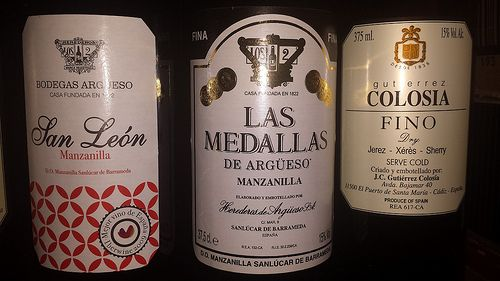 Fino and Manzanilla Sherry