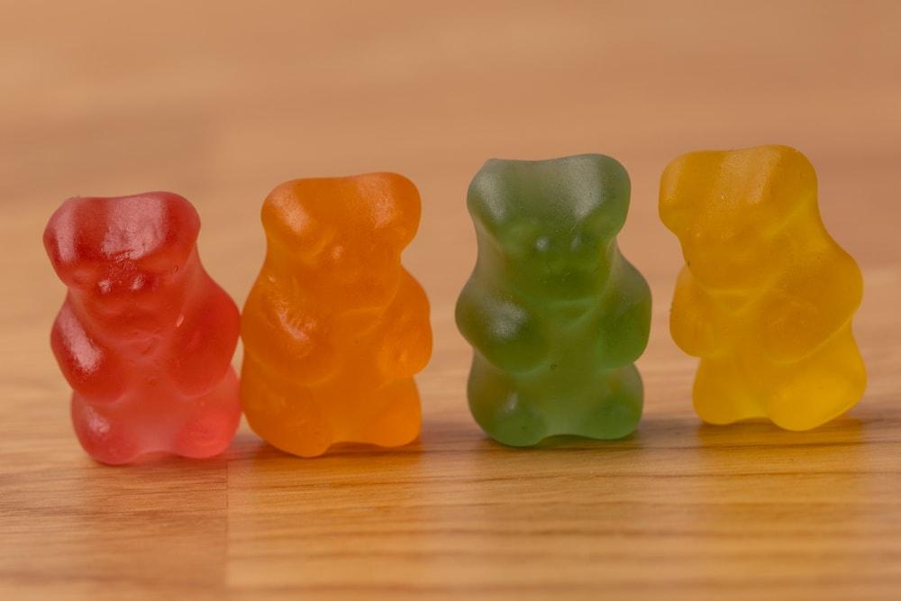 Four gummies