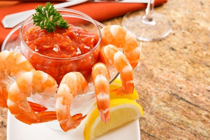 Fresh Shrimp and Cocktail Sauce