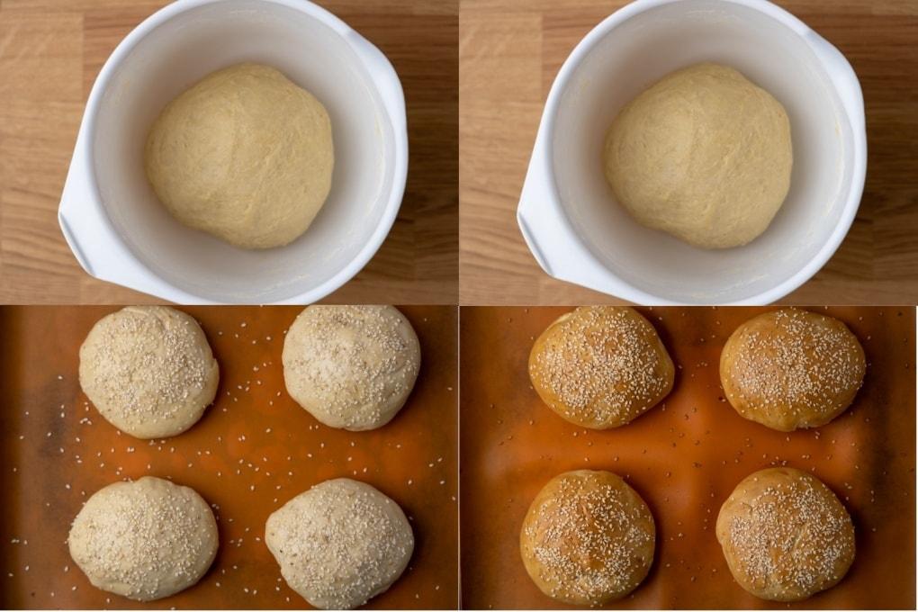 Fresh yeast frozen for 5 months