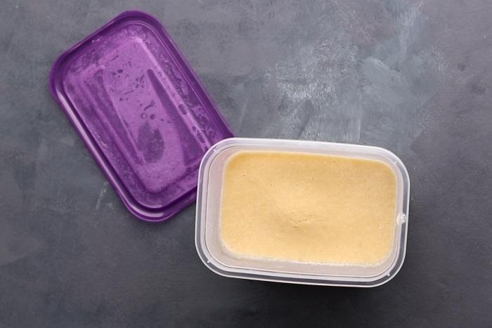 Frozen pancake batter