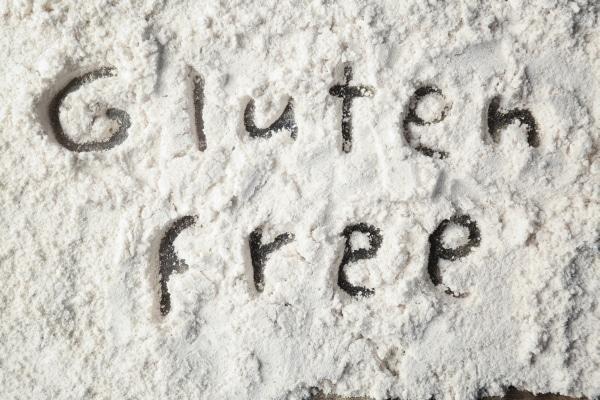Gluten-free coconut flour on a table