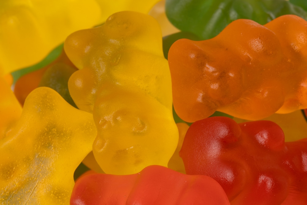 Gummy bears candy
