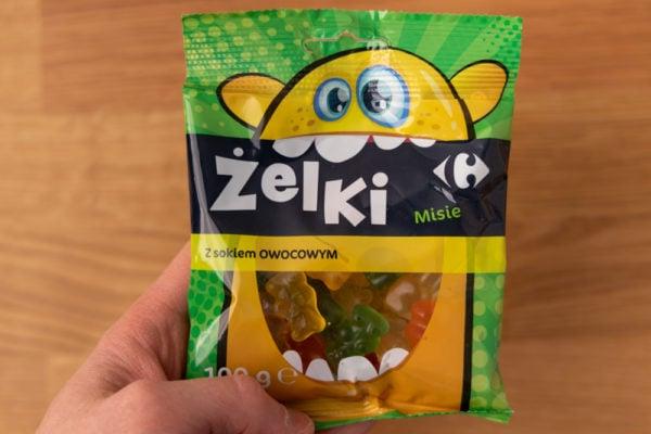 Gummy bears package