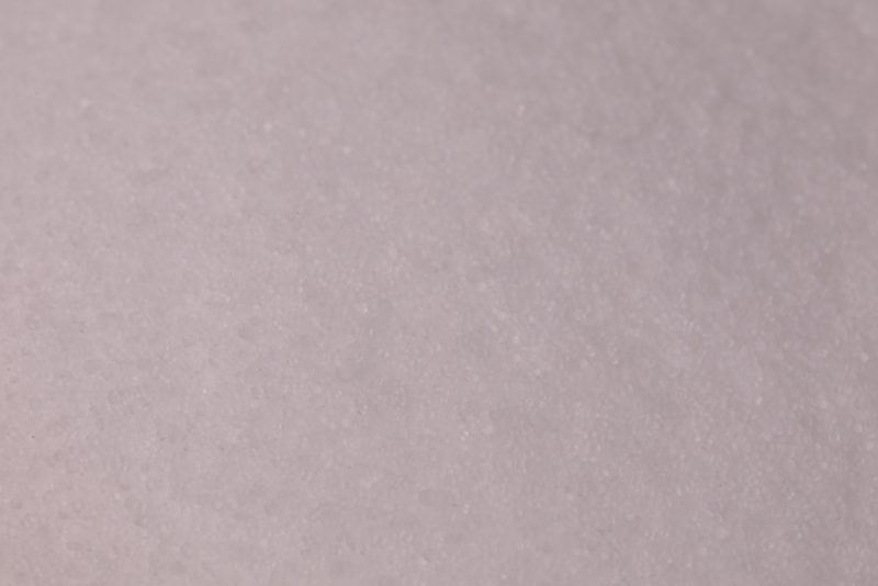 Iodized salt closeup
