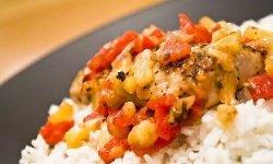 Lemon Pepper Mahi Mahi with Pineapple Salsa