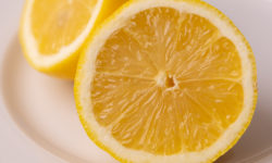 Lemon halved
