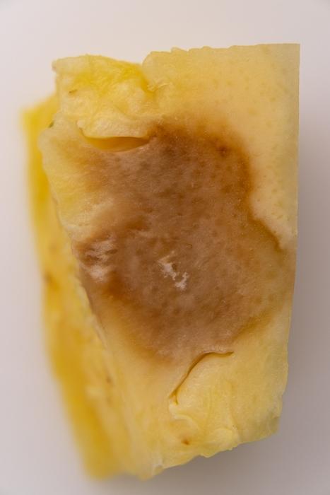 Brown pineapple piece