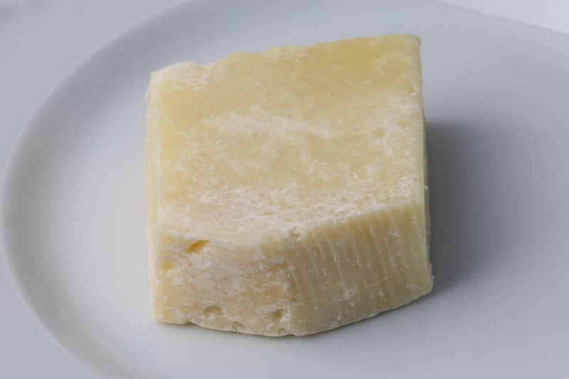 Old and dry Pecorino Romano