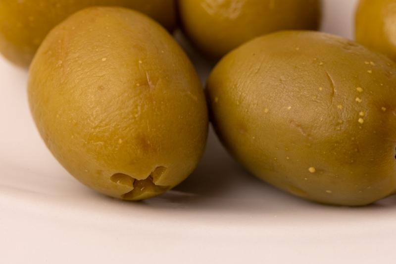 Olives closeup