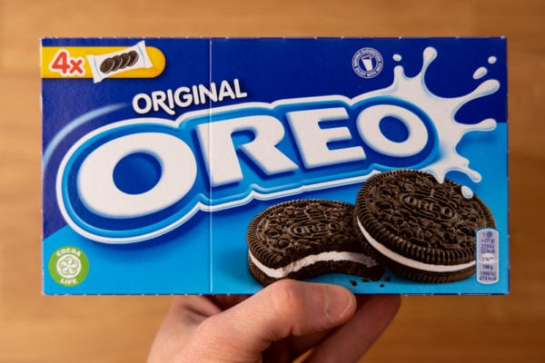 Oreos package