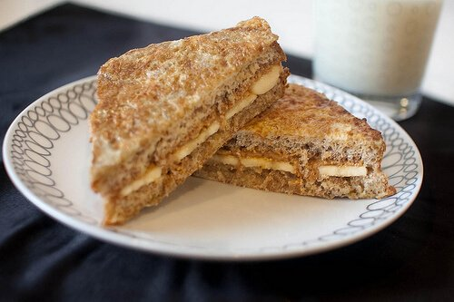 Peanut Butter French Toast Sandwiches