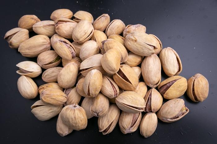 Pile of pistachios