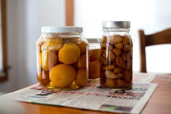 Preserved fruit