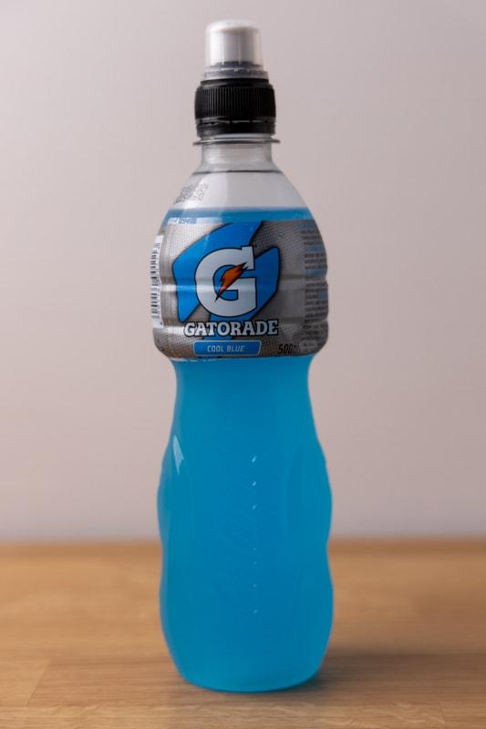 Raspberry gatorade bottle