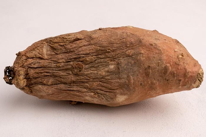 Shriveled sweet potato