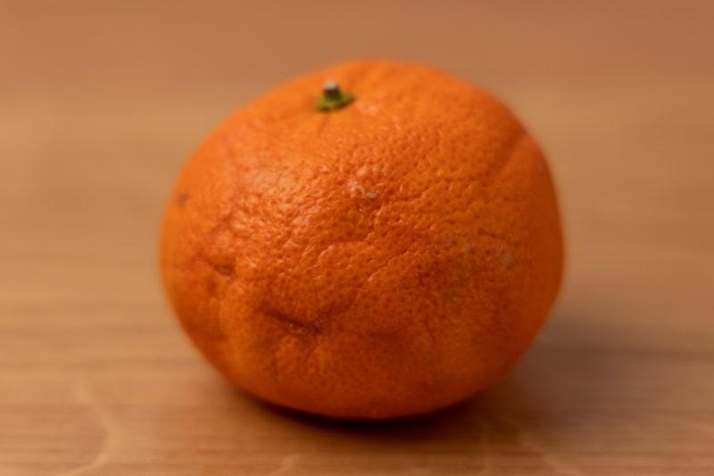 Shriveling tangerine