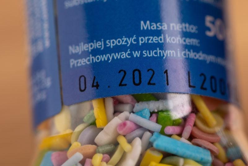 Sprinkles: best by date