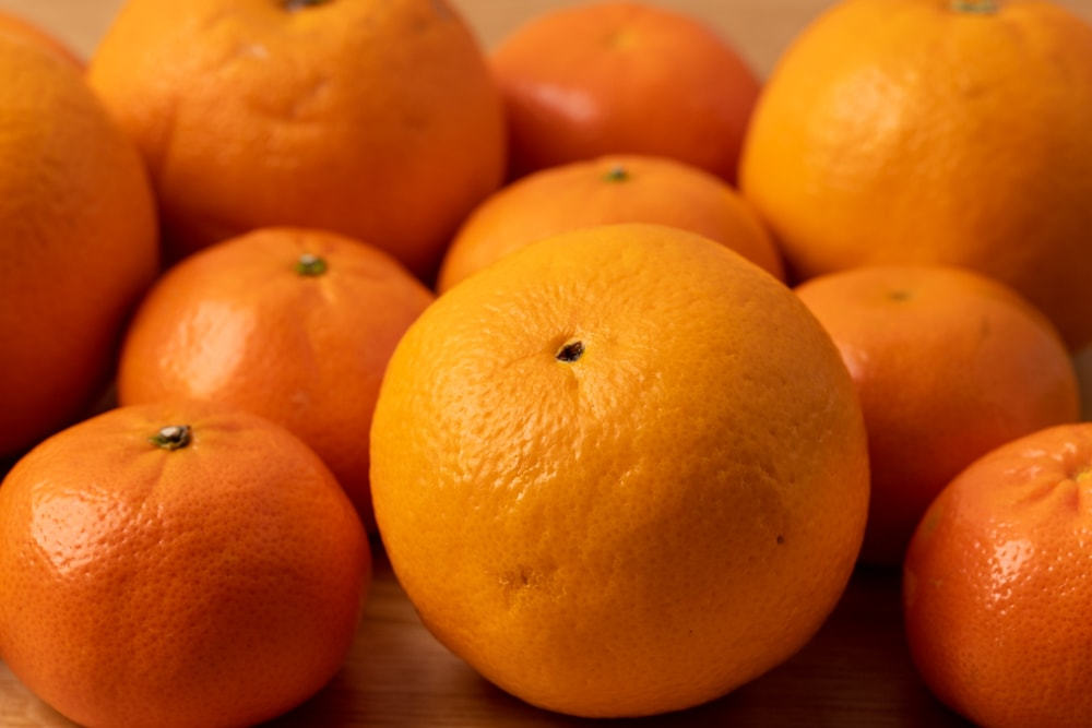 Tangerines and oranges