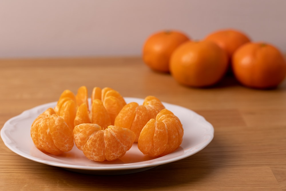 Tangerines ready for eating