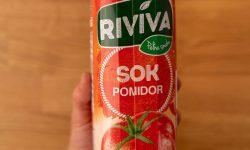 Tomato juice in hand
