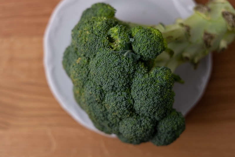 Whole broccoli