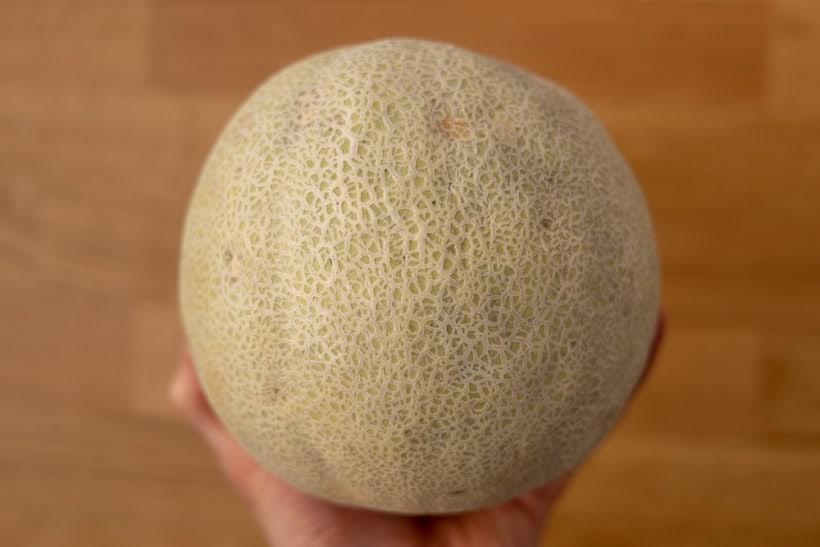 Whole cantaloupe