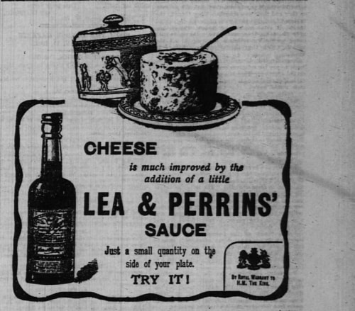 Worcestershire sauce ad
