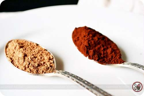 Valrhona Cocoa Powder and. Cadbury Cocoa Powder